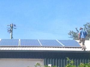 7kW installation at Tulgeen Disability Services, Bega NSW, Nov 2013