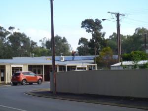 Solar panels on Op Shop roof supply 3 Community House buldings