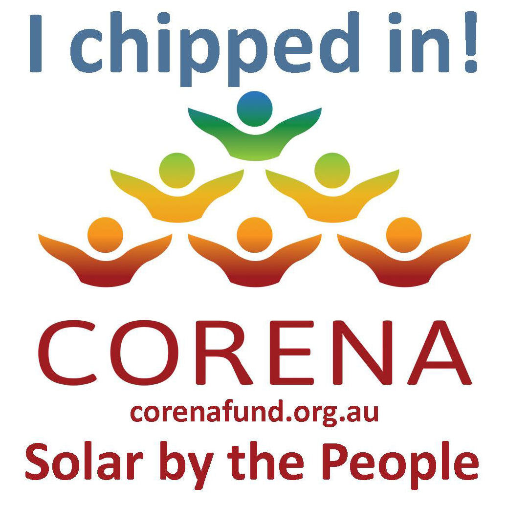 I support CORENA, you can too