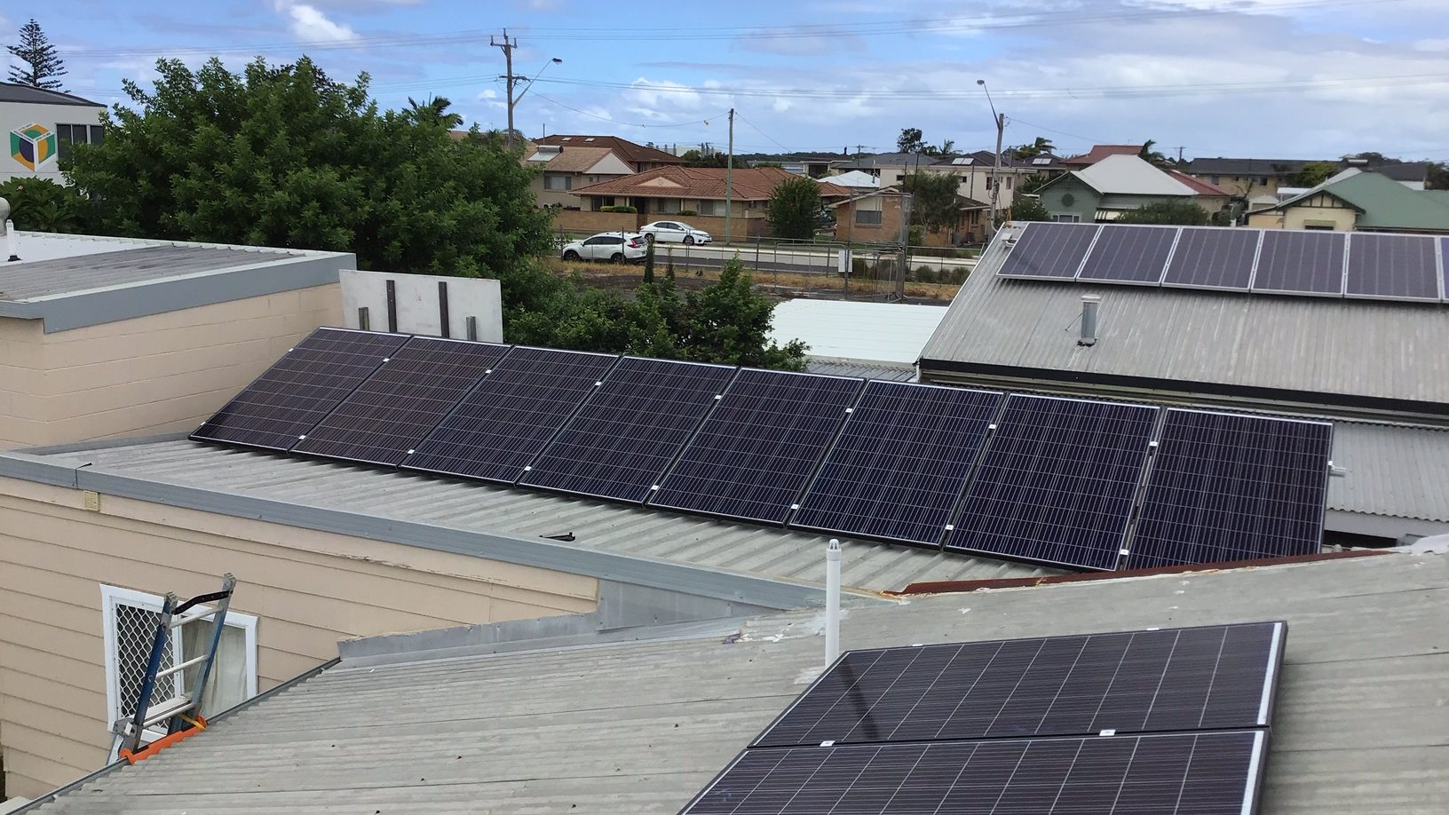 Solar on the roof of Ballina-Byron Family Day Care